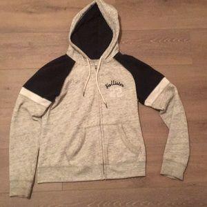 Women's Hollister Zip-up Hoodie L